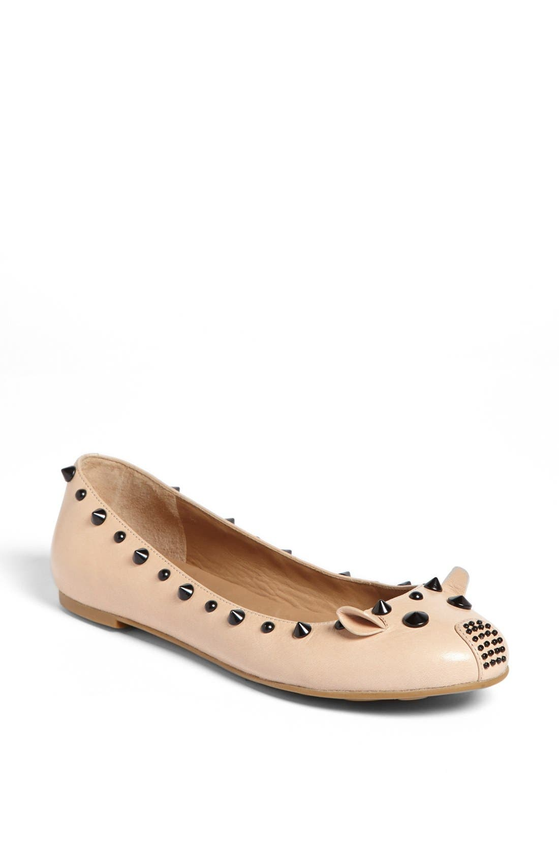 Alternate Image 1 Selected - MARC BY MARC JACOBS 'Punk Mouse' Ballerina Flat