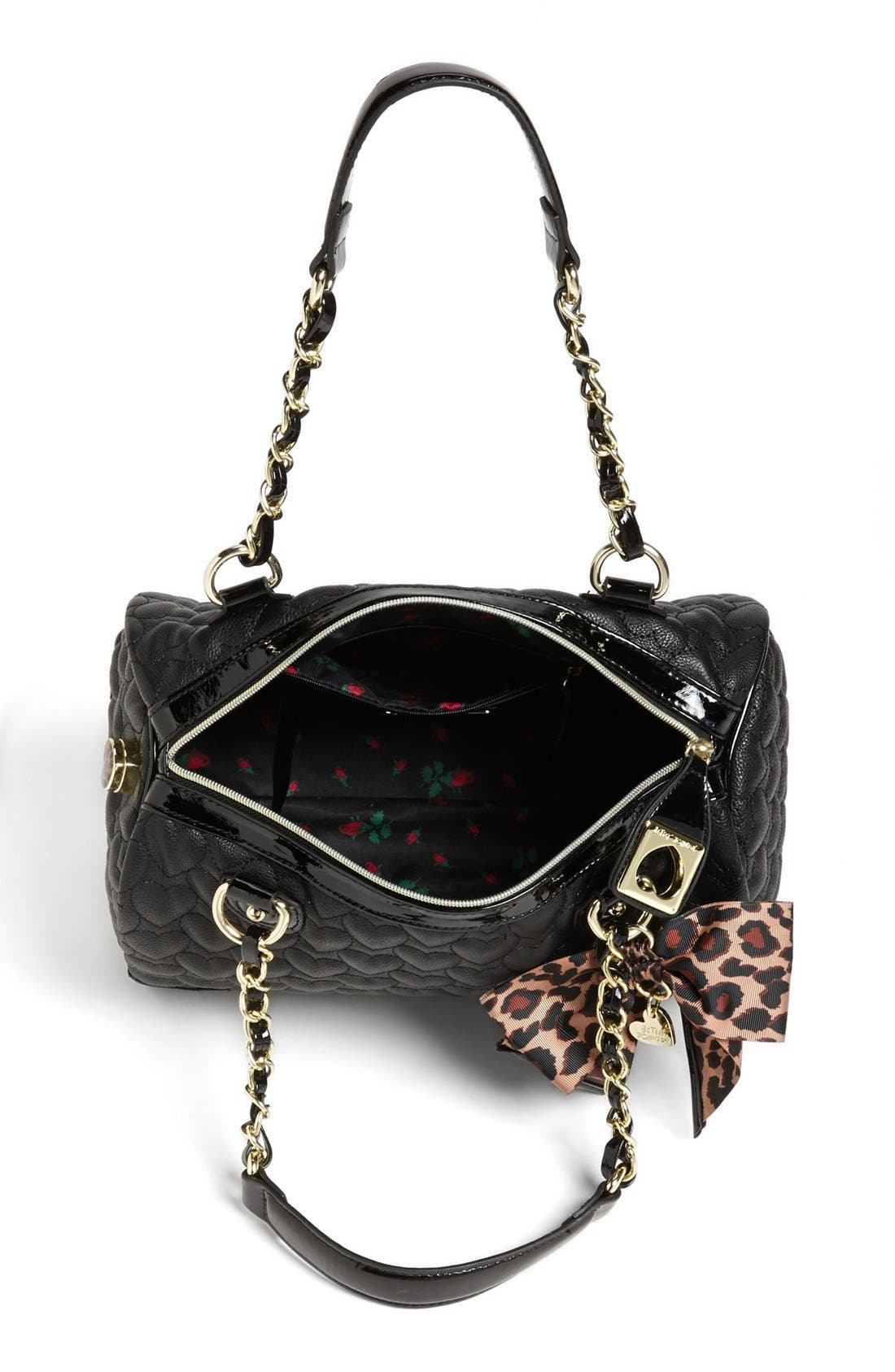 Alternate Image 3  - Betsey Johnson 'Will You Be Mine' Satchel