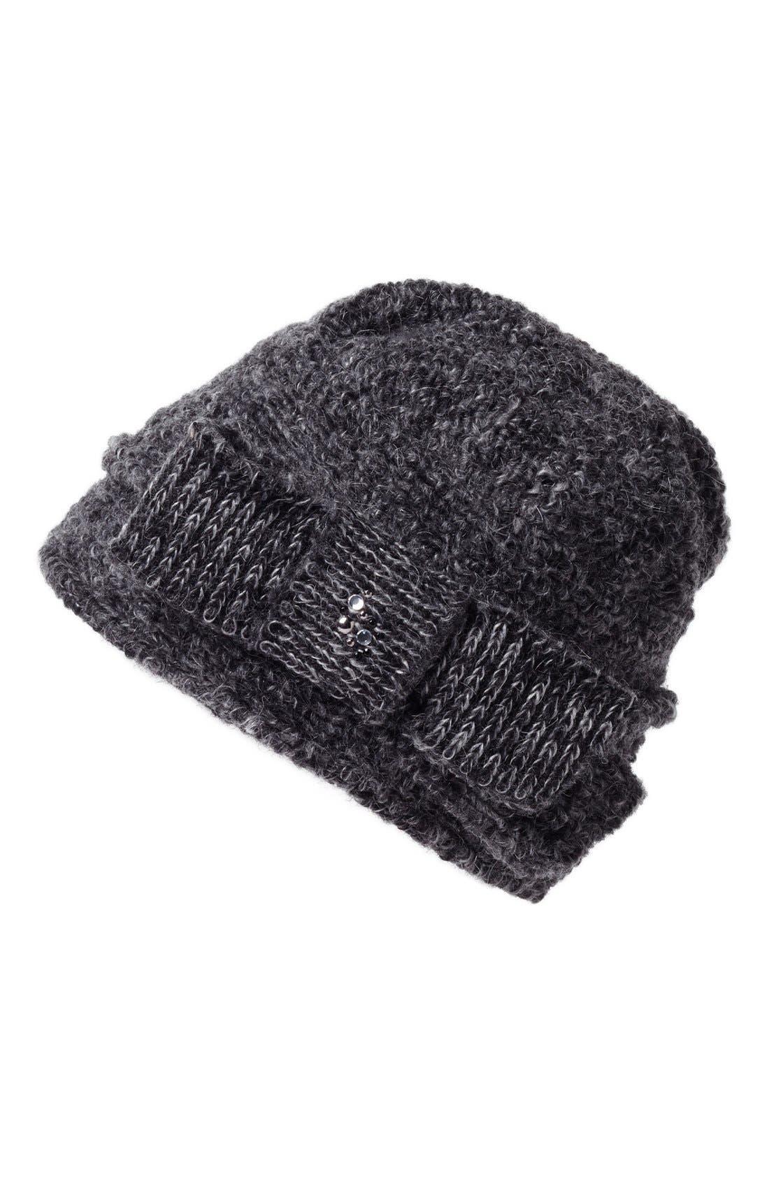 Alternate Image 1 Selected - Tarnish Bouclé Knit Cloche