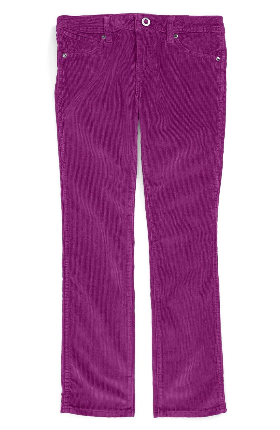 Main Image - Volcom '2X4' Corduroy Pants (Big Boys)
