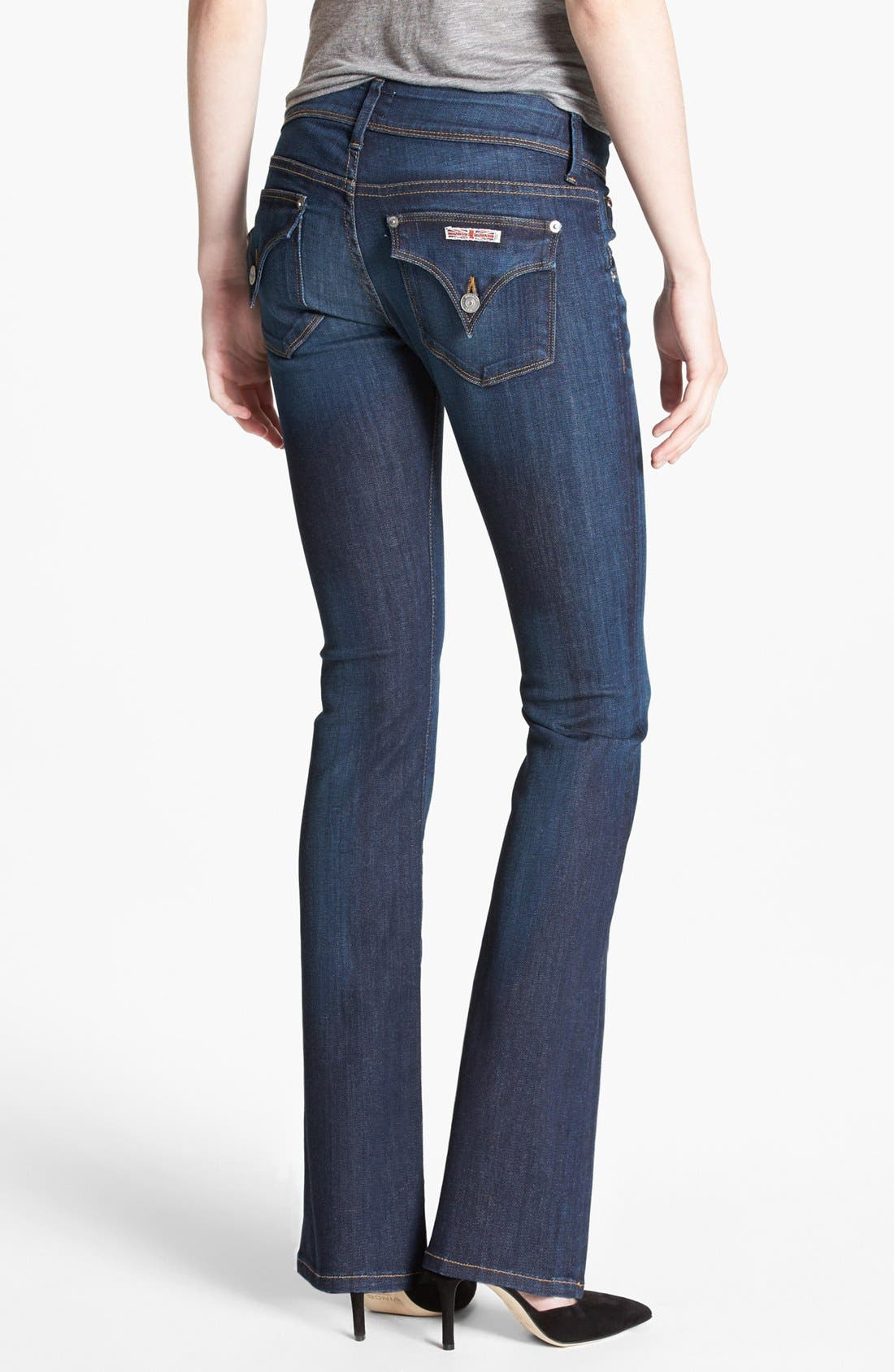 Alternate Image 2  - Hudson Jeans 'Beth' Baby Bootcut Jeans (Iconic) (Petite)