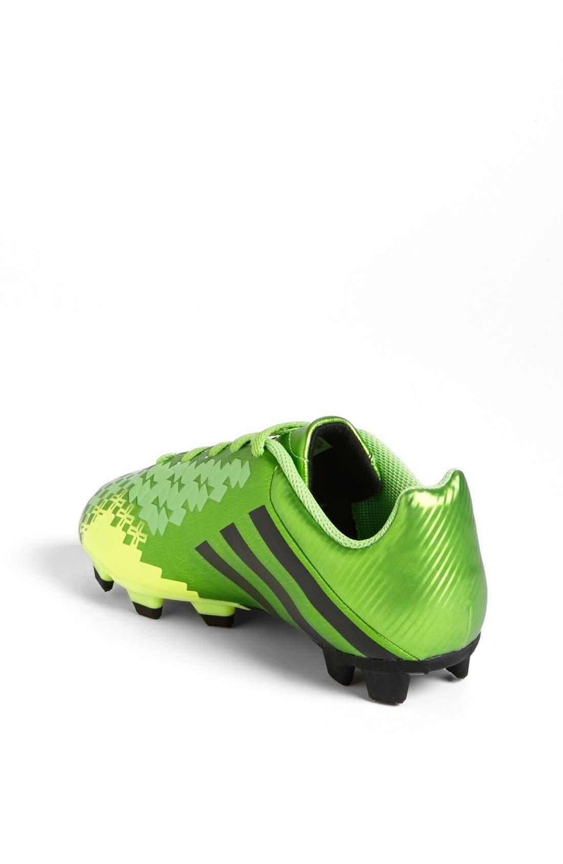 Alternate Image 2  - adidas 'Predito LZ TRX FG' Soccer Cleat (Toddler, Little Kid & Big Kid)