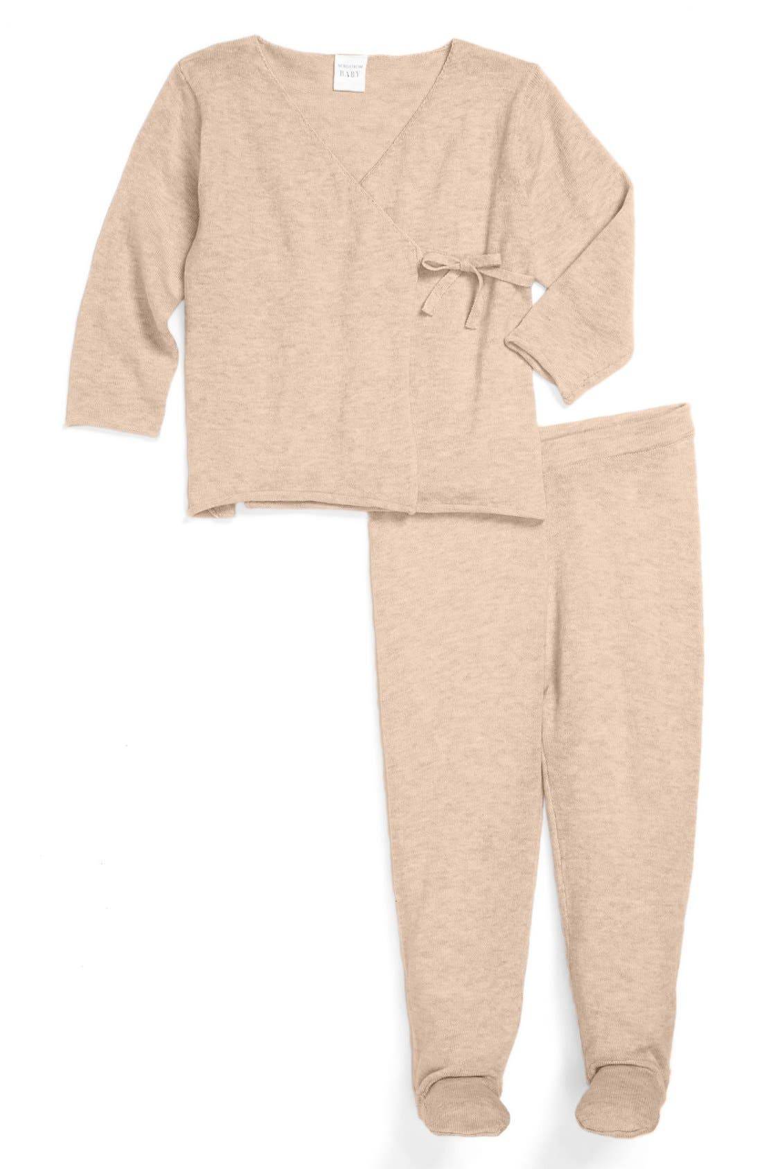 Alternate Image 1 Selected - Nordstrom Baby Top & Pants (Baby)