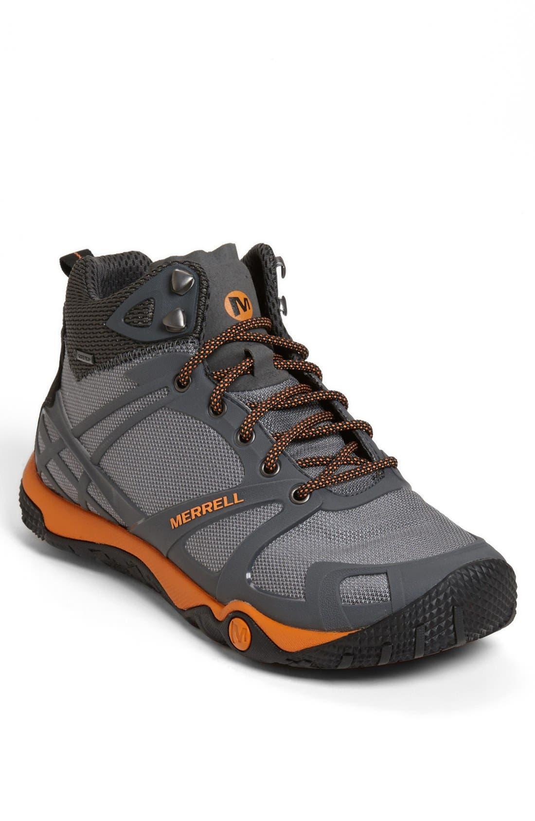 Alternate Image 1 Selected - Merrell 'Proterra Mid Sport' Waterproof Hiking Boot (Men)