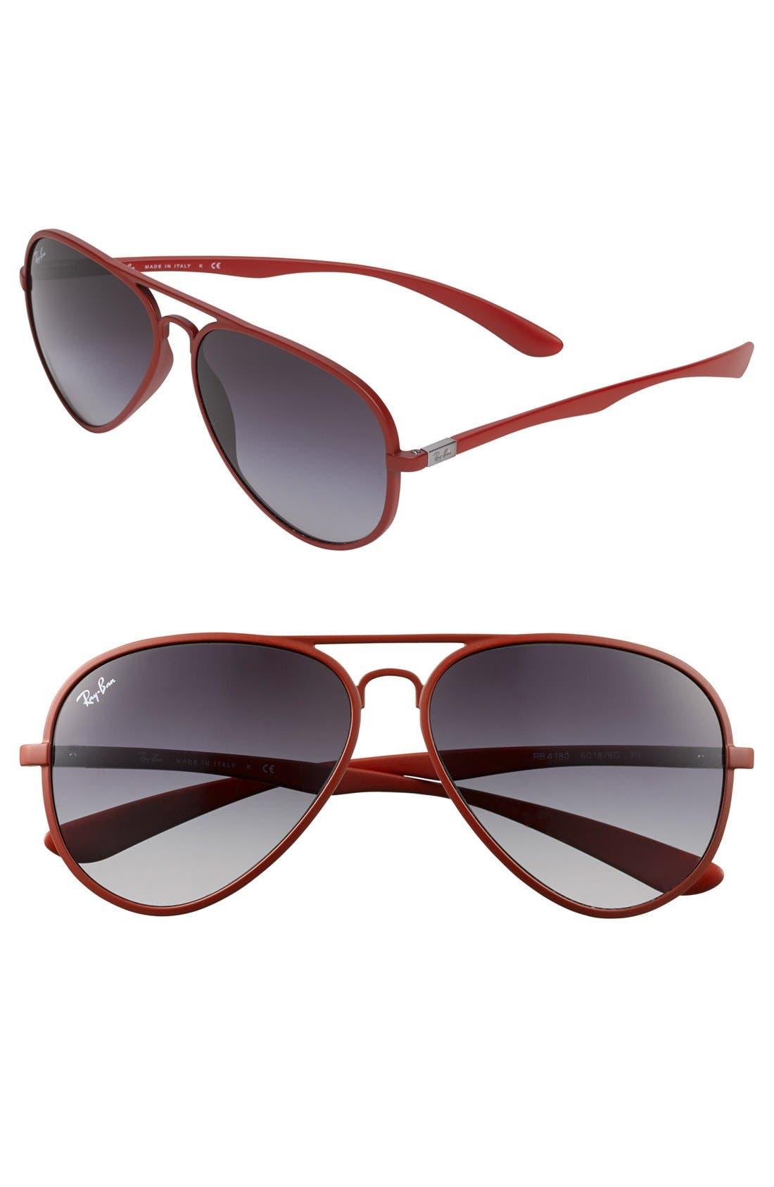 Alternate Image 1 Selected - Ray-Ban 58mm Aviator Sunglasses
