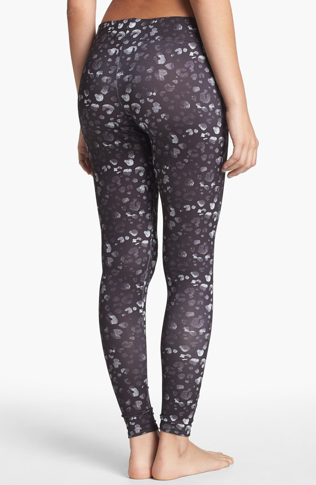 Alternate Image 2  - BP. Undercover Print Leggings (Juniors)