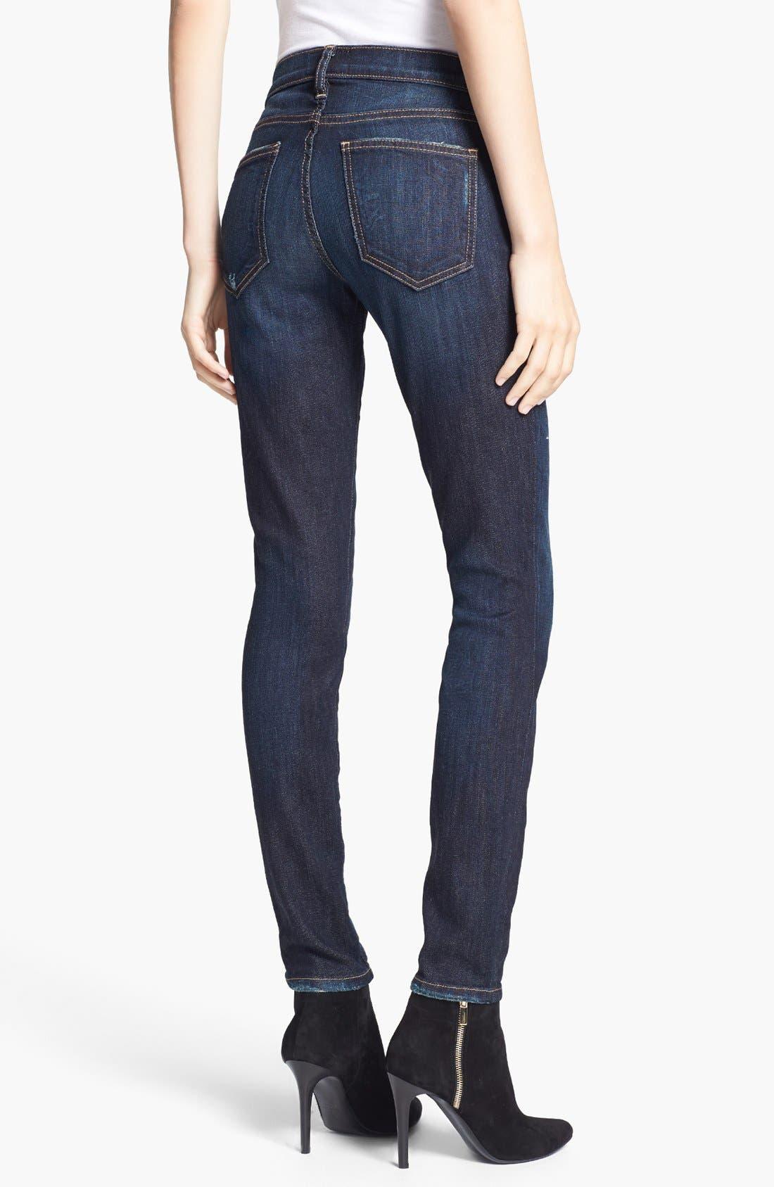 Alternate Image 2  - Current/Elliott 'The Ankle Skinny' Jeans (Richmond)