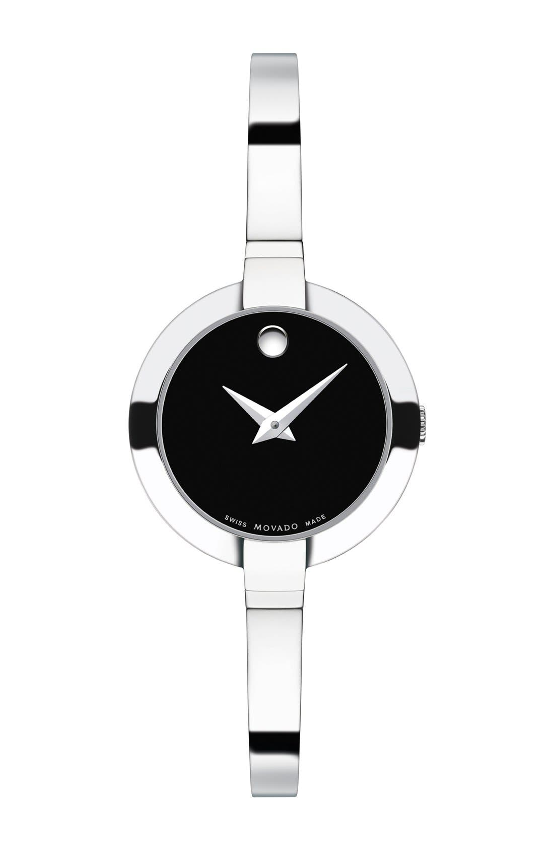 Alternate Image 1 Selected - Movado 'Bela' Bangle Watch, 25mm (Regular Retail Price: $495.00)