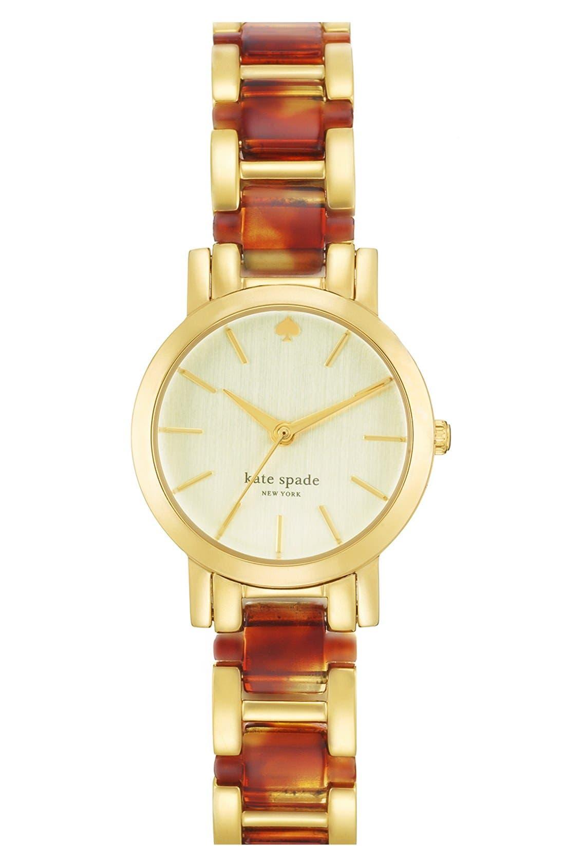 Main Image - kate spade new york 'gramercy mini' bracelet watch, 24mm