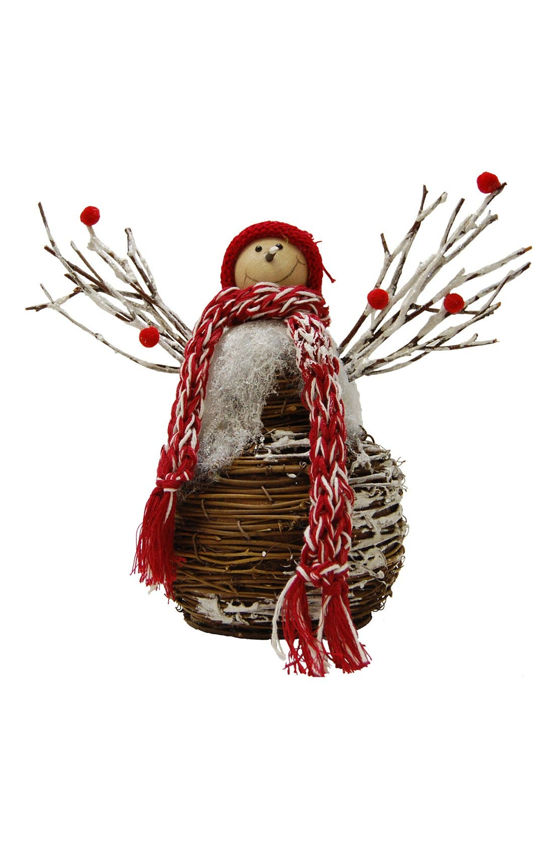 Main Image - Shea's Wildflower Snowman Decoration