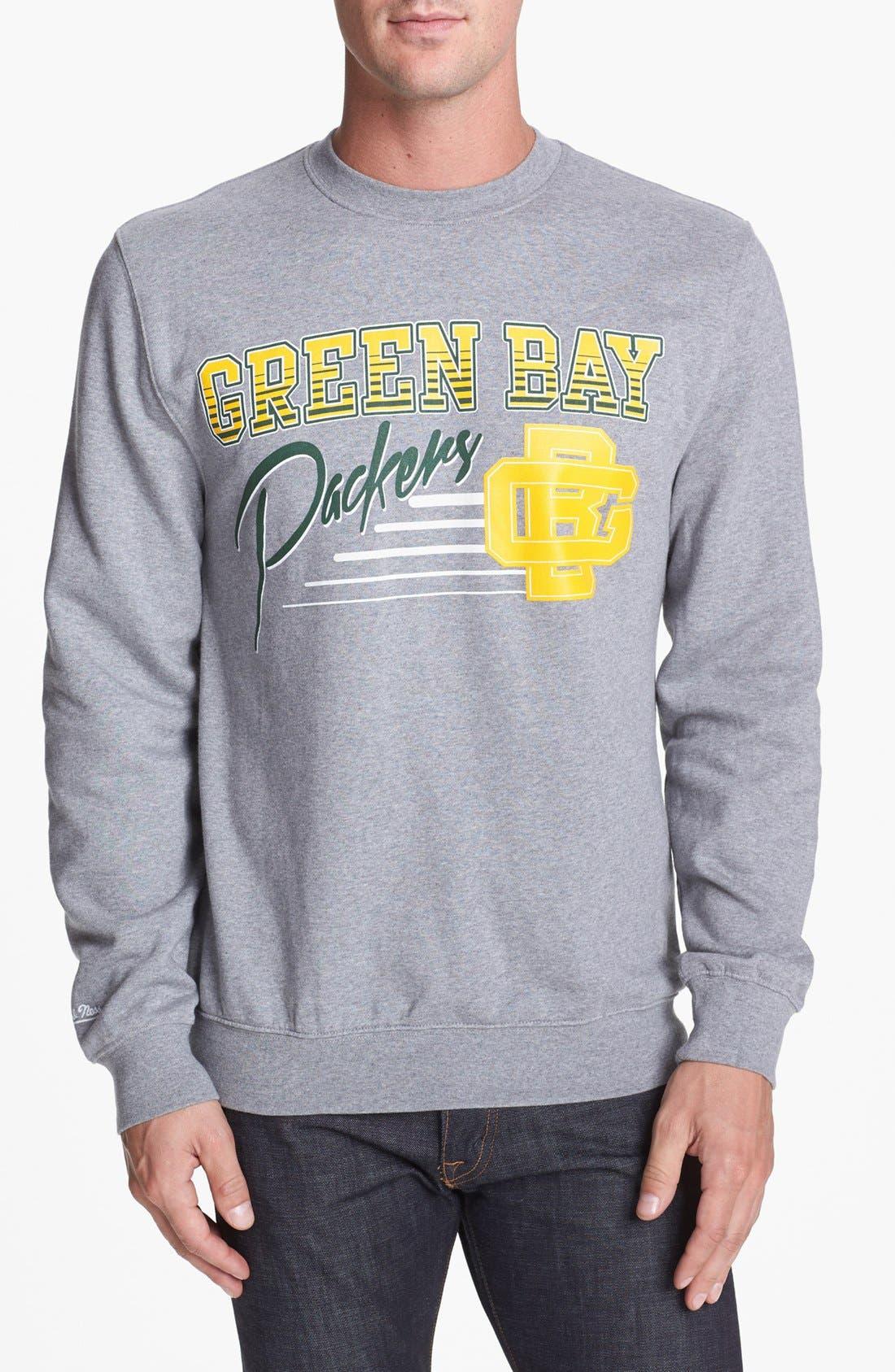 Alternate Image 1 Selected - Mitchell & Ness 'Green Bay Packers' Sweatshirt