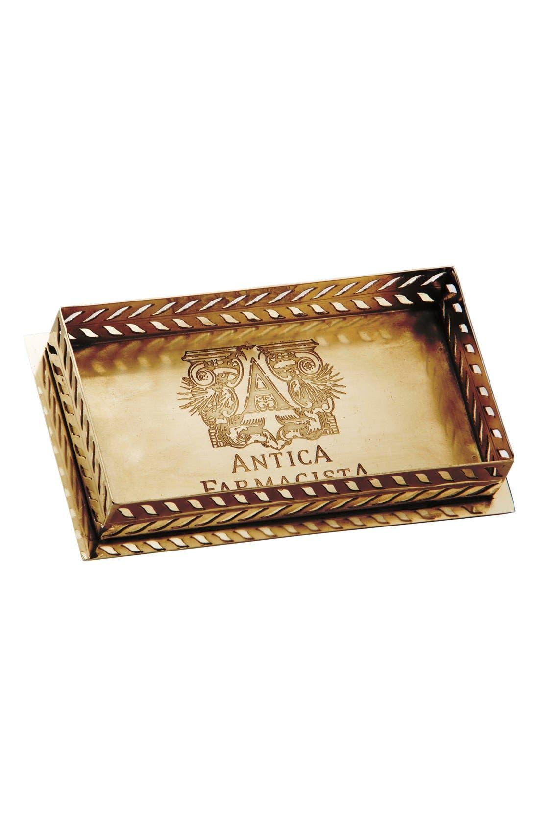 Alternate Image 1 Selected - Antica Farmacista Brass Tray