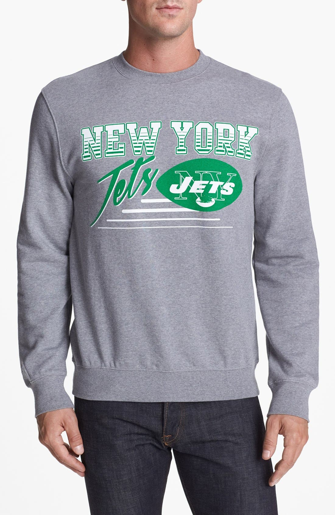 Alternate Image 1 Selected - Mitchell & Ness 'New York Jets' Sweatshirt