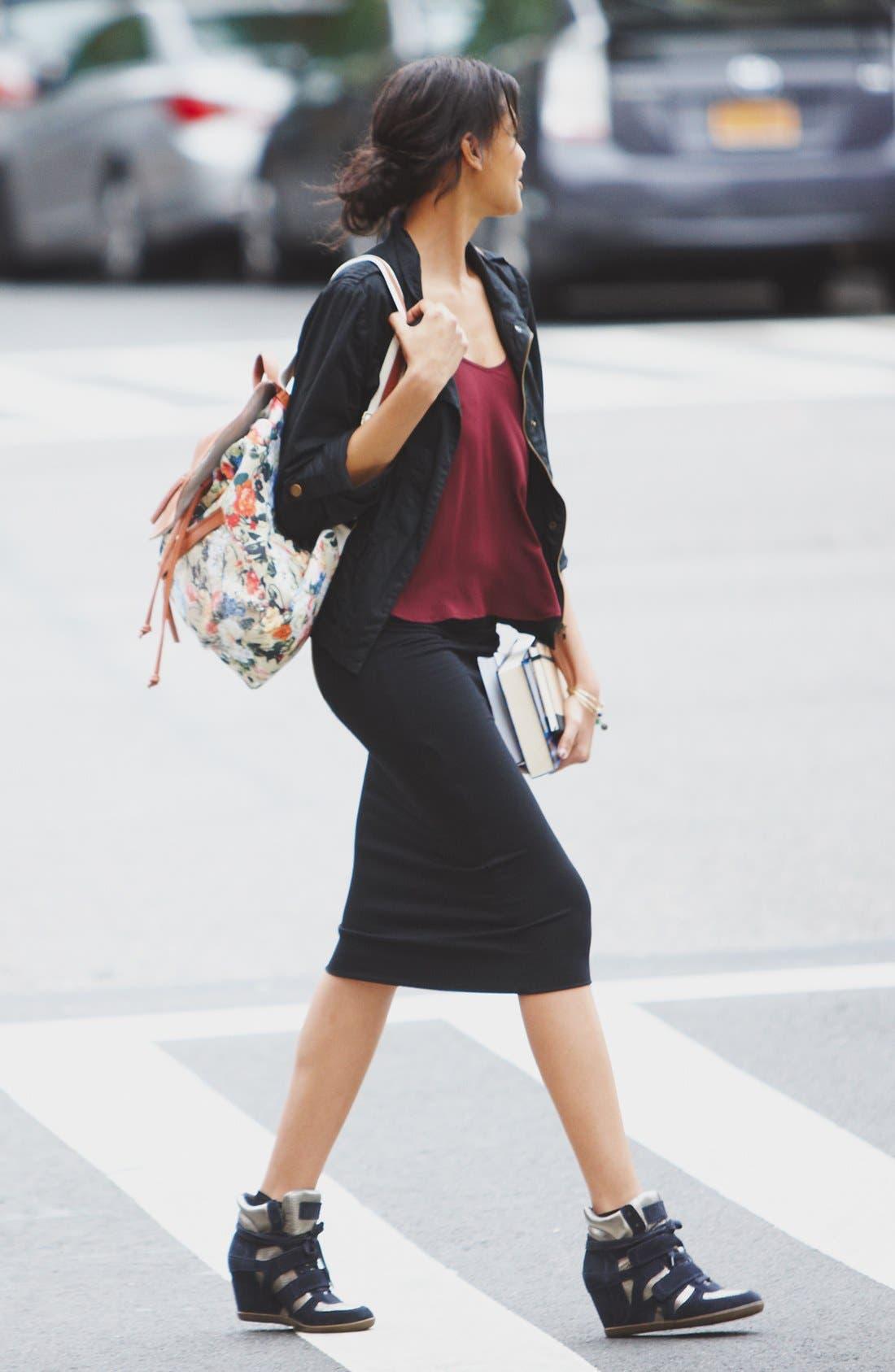 Main Image - Angel Kiss Jacket, Lush Camisole & Frenchi® Skirt
