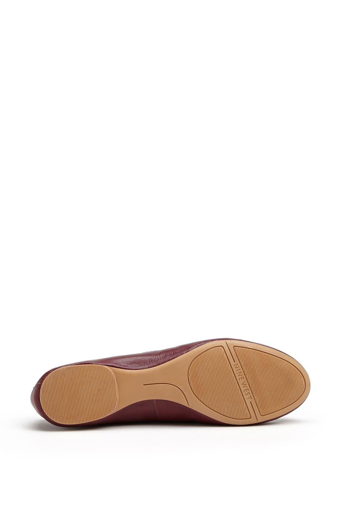 Alternate Image 4  - Nine West 'Classica' Ballet Flat (Online Only)
