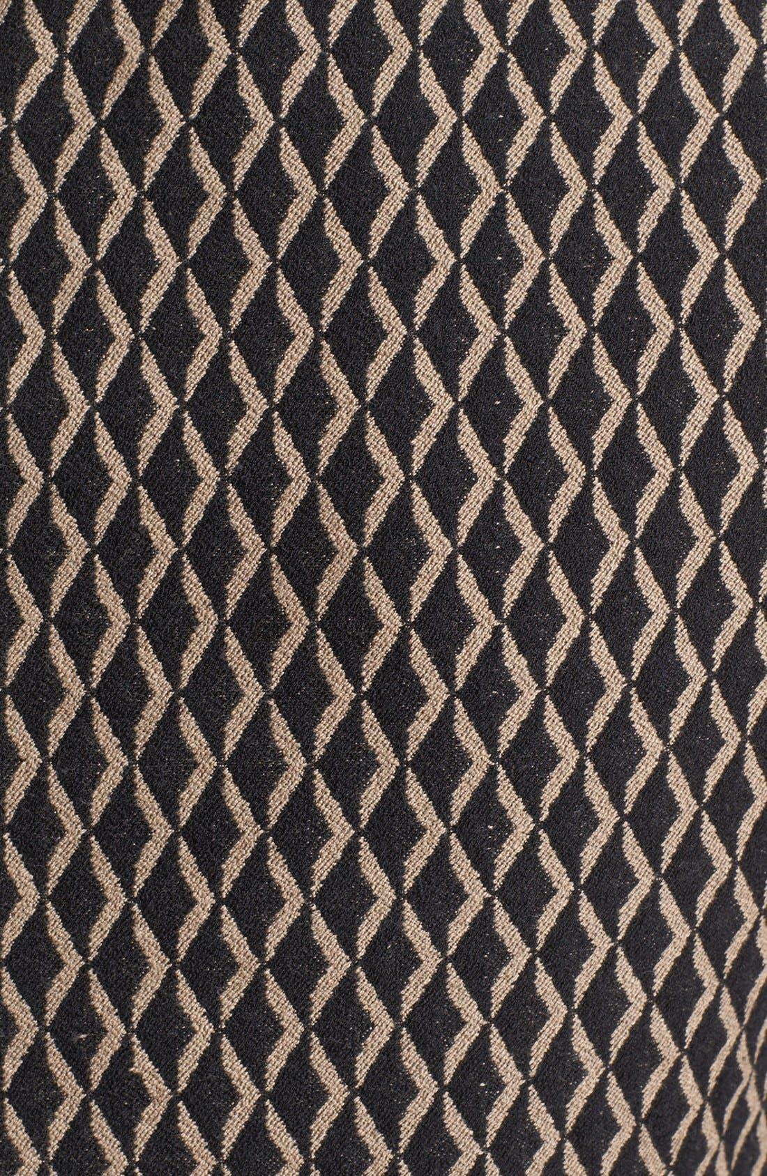 Alternate Image 3  - Vince Camuto Diamond Print Sleeveless Peplum Blouse