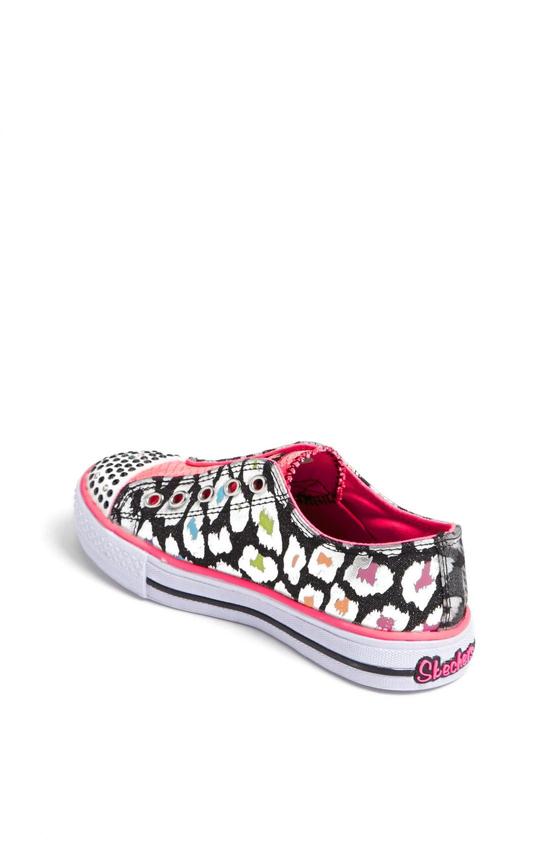 Alternate Image 2  - SKECHERS 'Twinkle Toes' Light-Up Sneaker (Toddler & Little Kid)