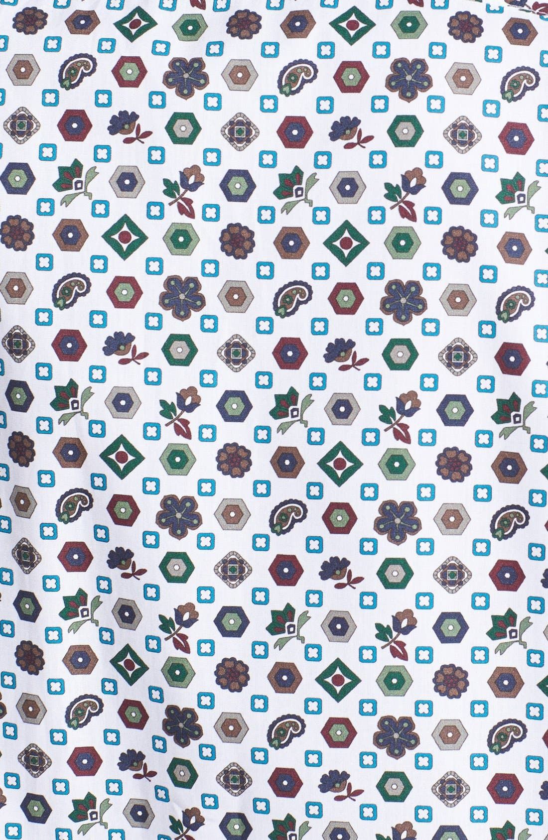 Alternate Image 3  - Etro Geometric Medallion Print Cotton Shirt