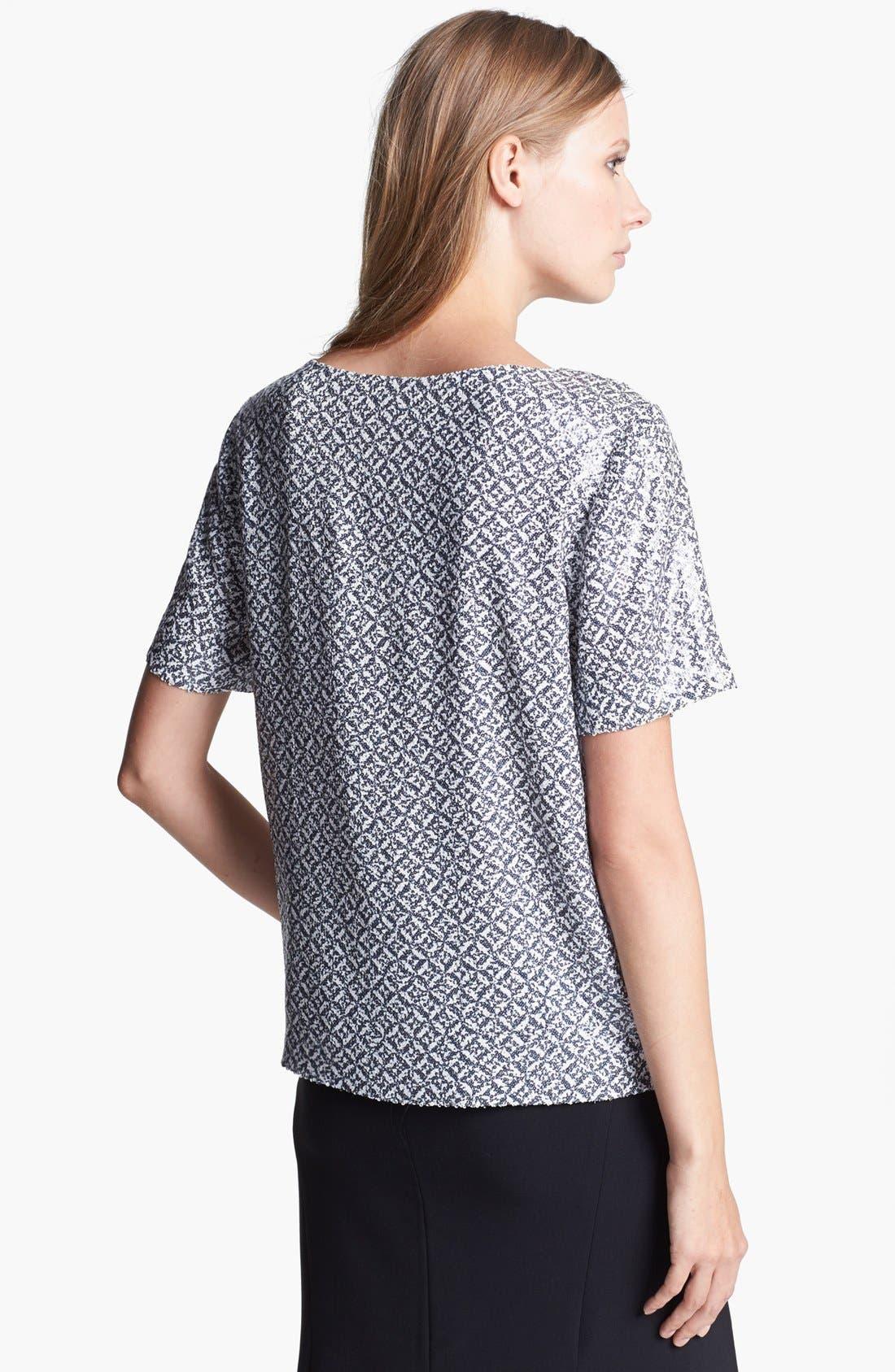 Alternate Image 2  - Joie 'Reya' Sequin Silk Top