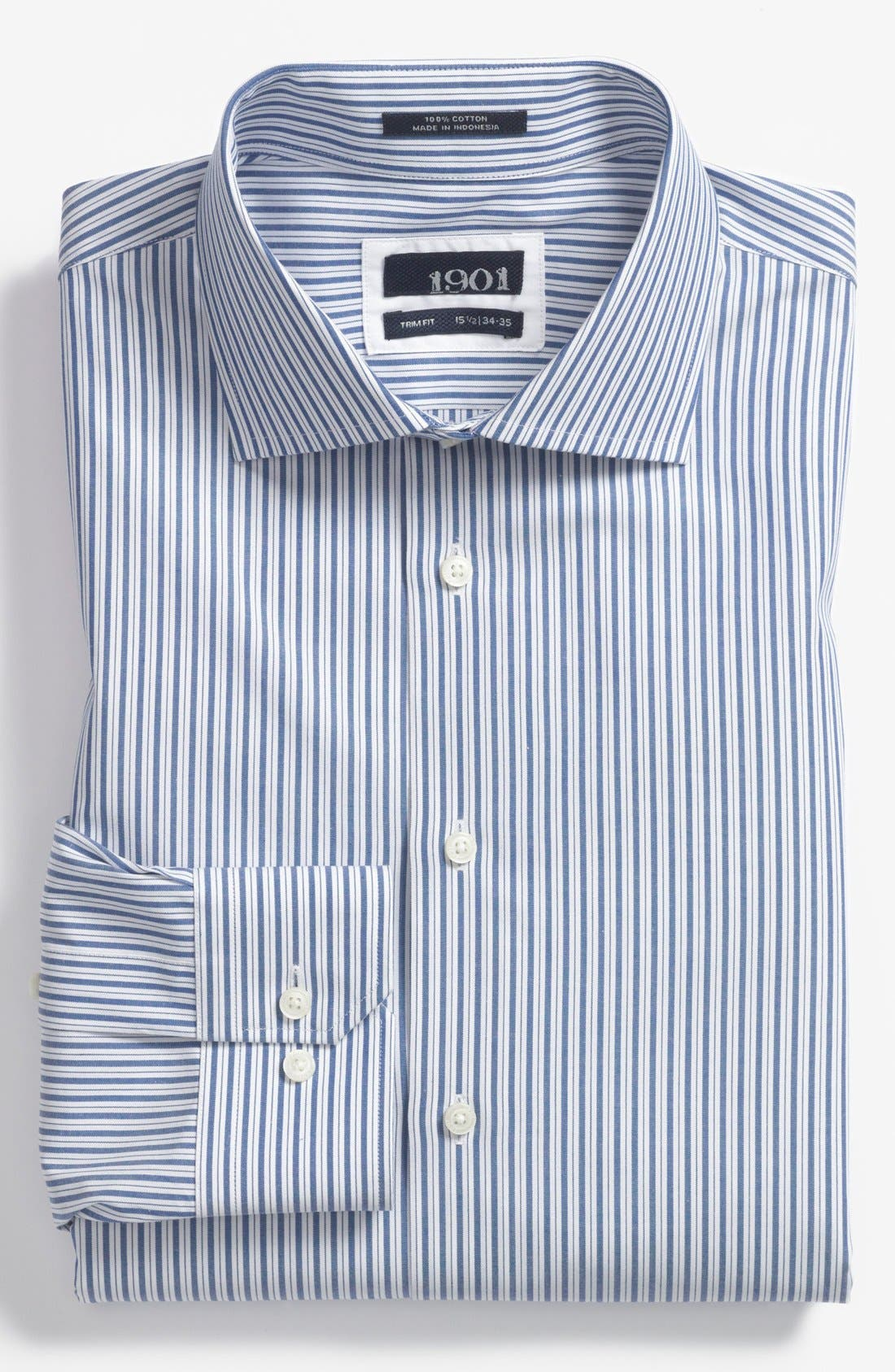 Main Image - 1901 Trim Fit Dress Shirt