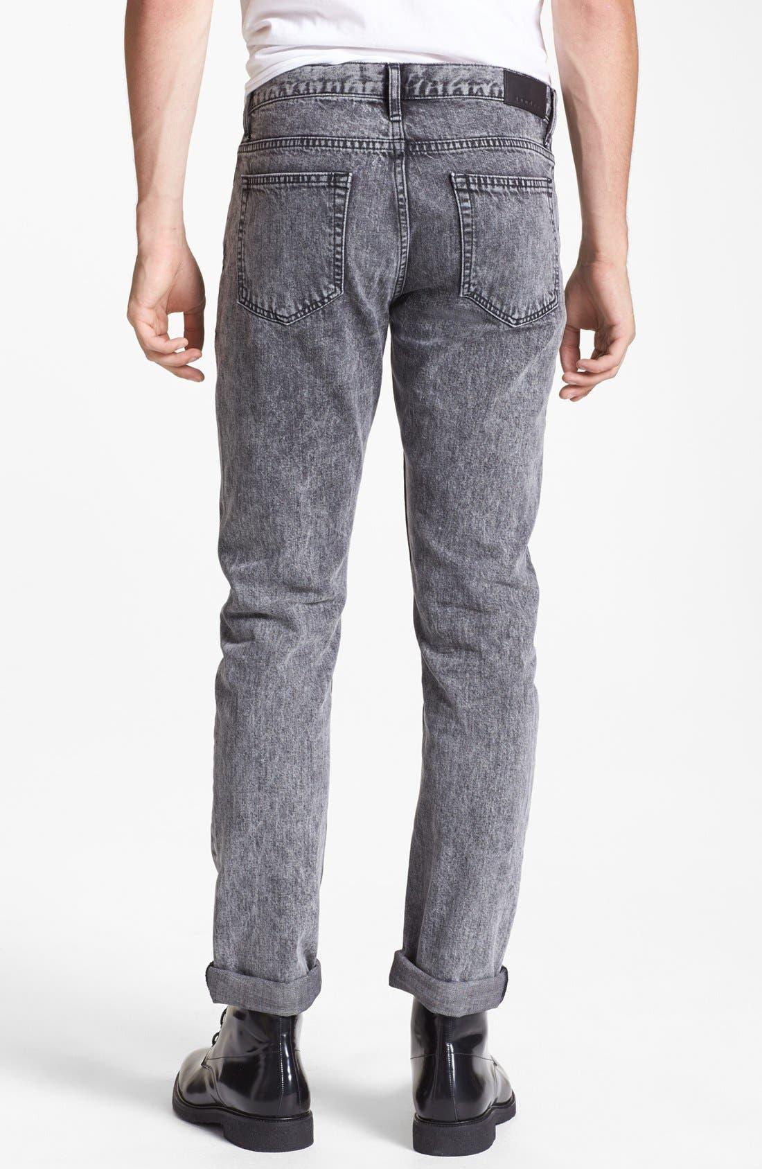 Alternate Image 2  - sandro 'Pixies' Straight Leg Jeans