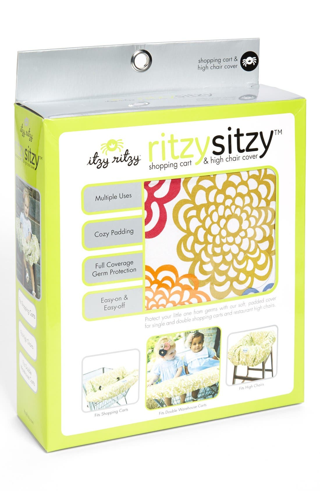 Alternate Image 4  - Itzy Ritzy Shopping Cart/Highchair Cover