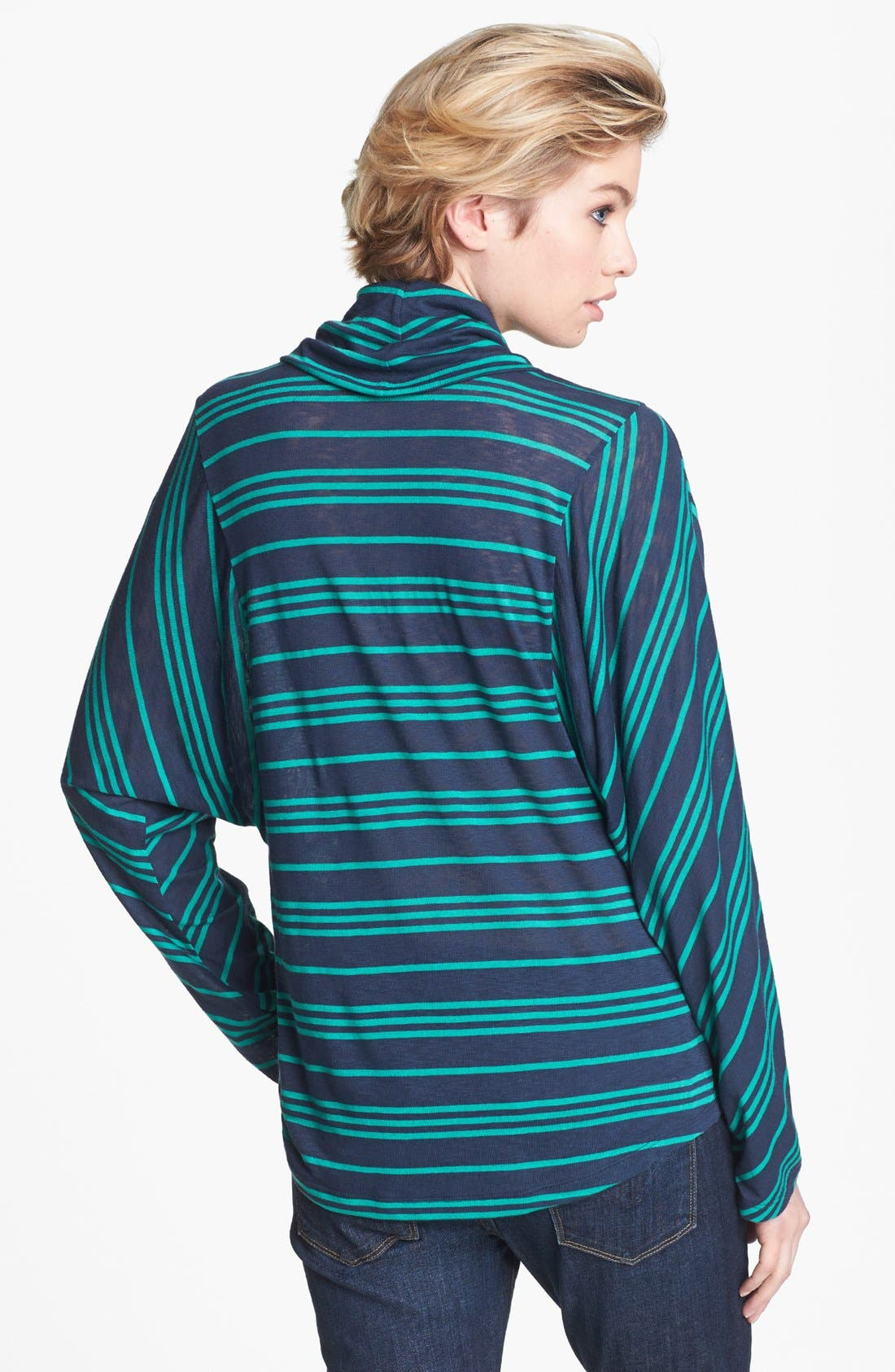 Alternate Image 2  - Splendid 'Stockholm' Stripe Cowl Neck Top