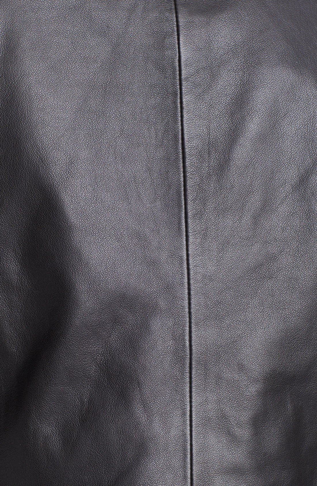 Alternate Image 3  - Hinge® Draped Suede & Leather Jacket