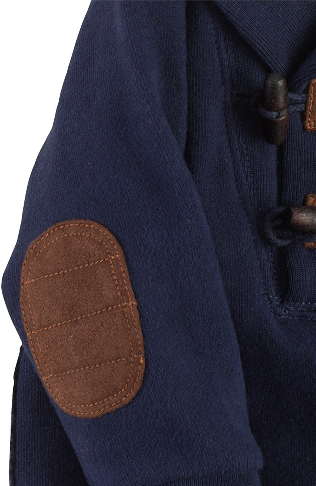 Alternate Image 2  - Ralph Lauren Shawl Collar One-Piece (Baby Boys)