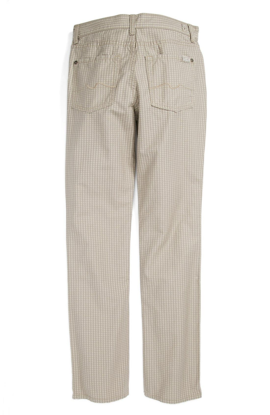 Alternate Image 1 Selected - 7 For All Mankind® 'The Straight' Straight Leg Pants (Big Boys) (Online Only)