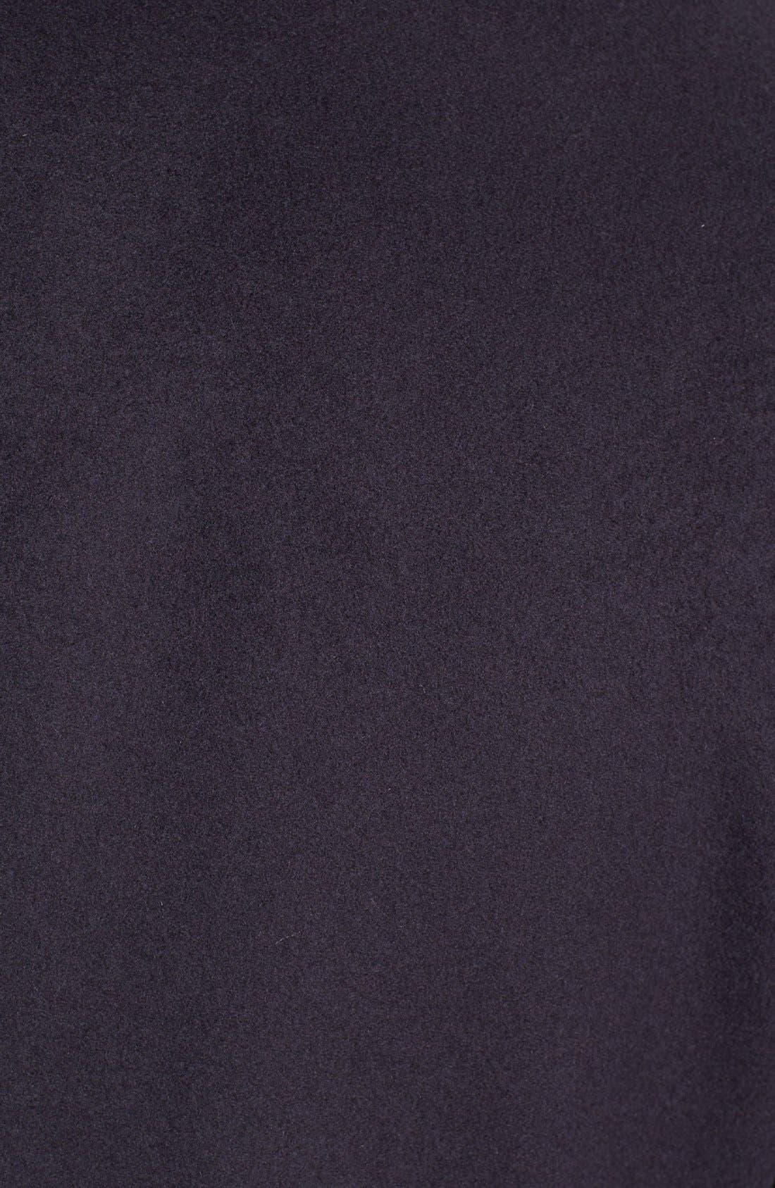Alternate Image 3  - Armani Collezioni Wool Blend Peacoat