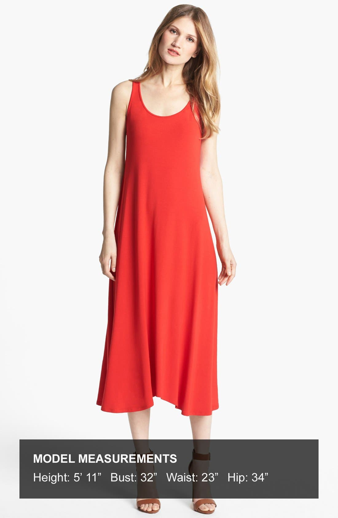 Alternate Image 4  - Eileen Fisher Jersey Maxi Dress