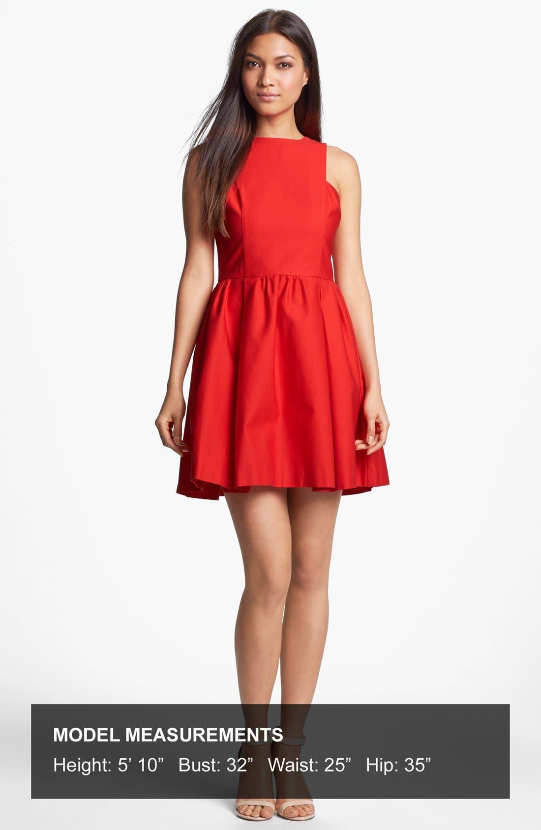 Alternate Image 4  - BB Dakota 'Anisa' Cotton Fit & Flare Dress