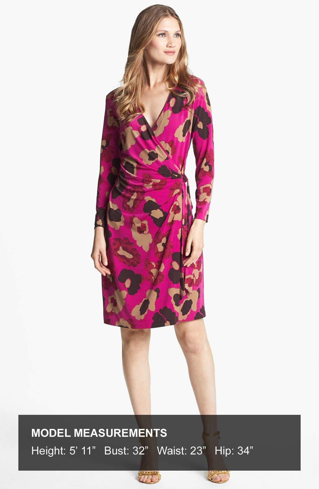 Alternate Image 4  - Anne Klein Floral Print Faux Wrap Dress