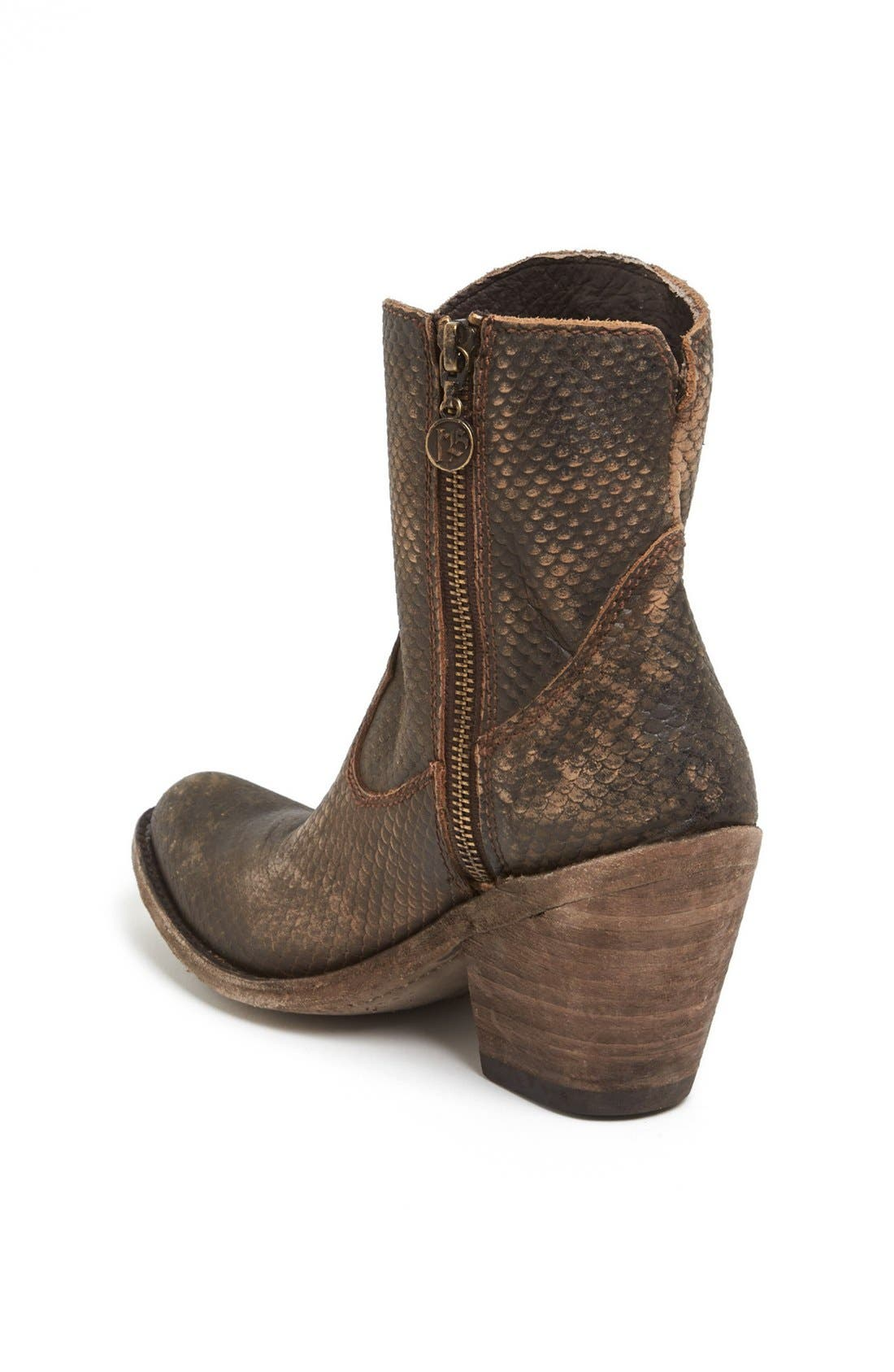 Alternate Image 2  - Liberty Black Studded Short Western Boot