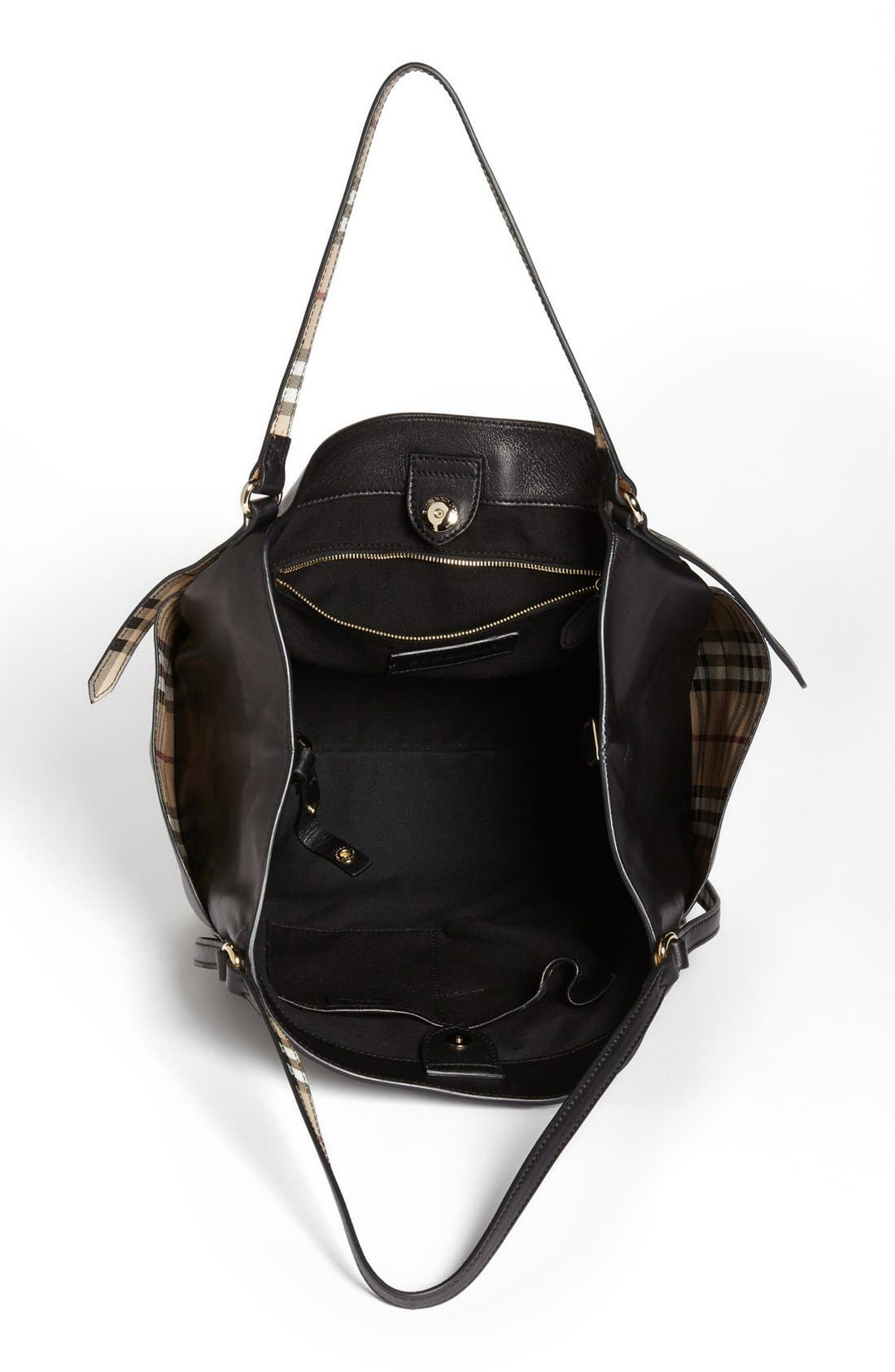Alternate Image 3  - Burberry 'Canterbury' Leather Over Shoulder Tote