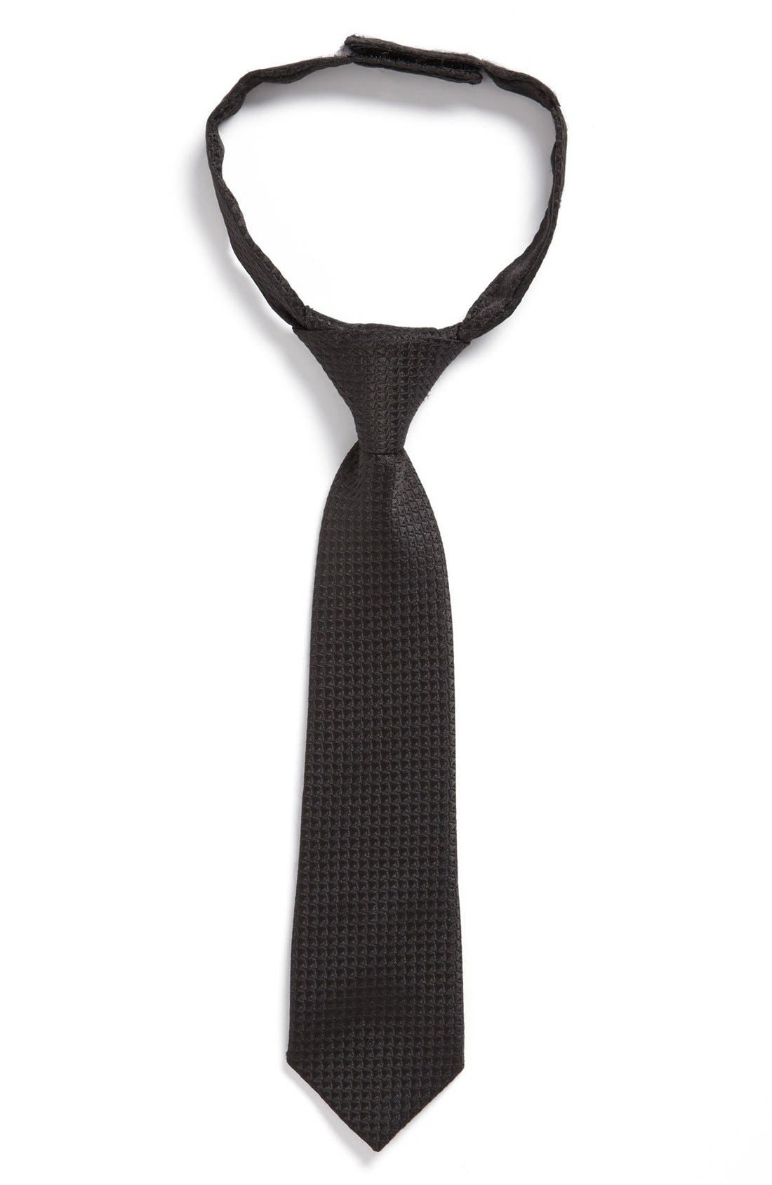 Alternate Image 1 Selected - Sovereign Code Woven Loose Tie (Toddler Boys)