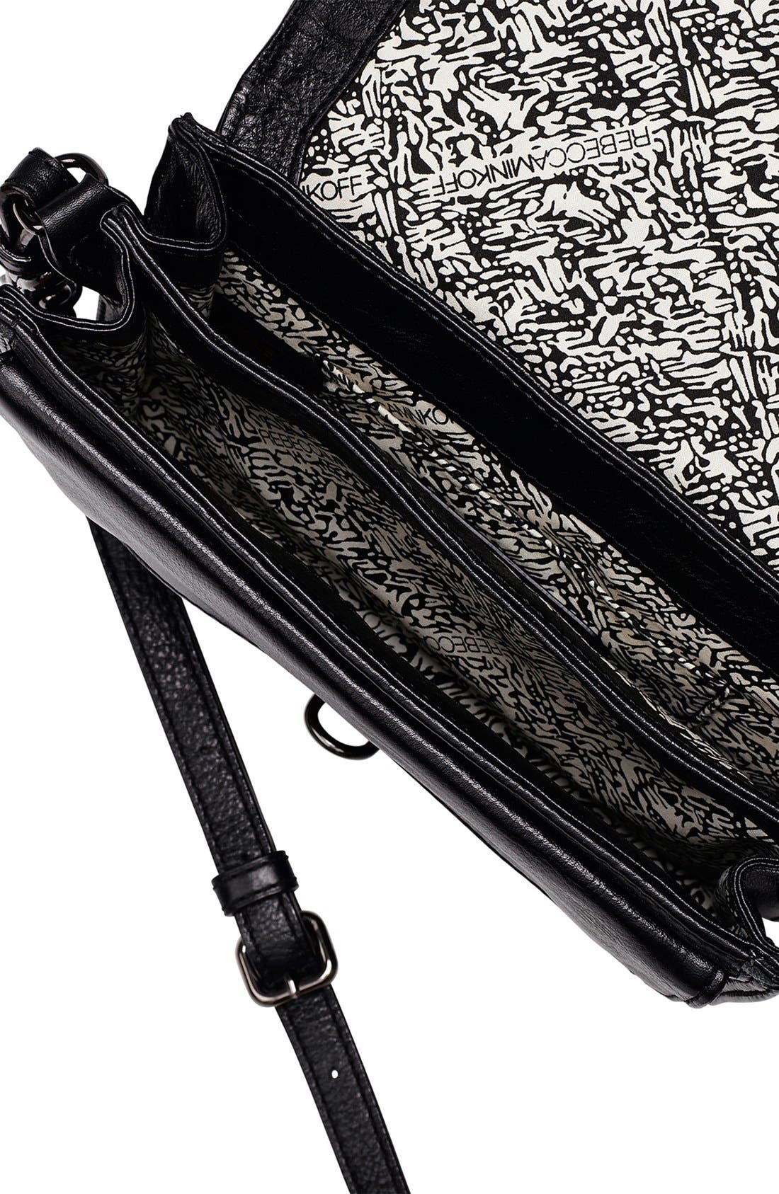 Alternate Image 3  - Rebecca Minkoff 'Hudson - Moto Mini' Crossbody Bag