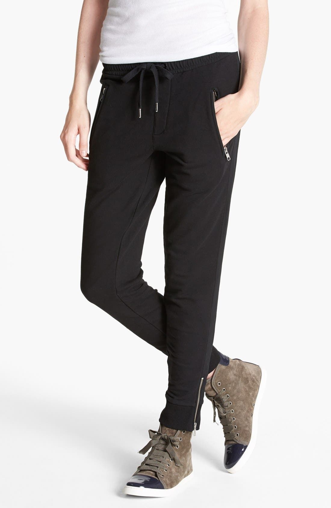 Alternate Image 1 Selected - The Kooples Side Stripe Sweatpants