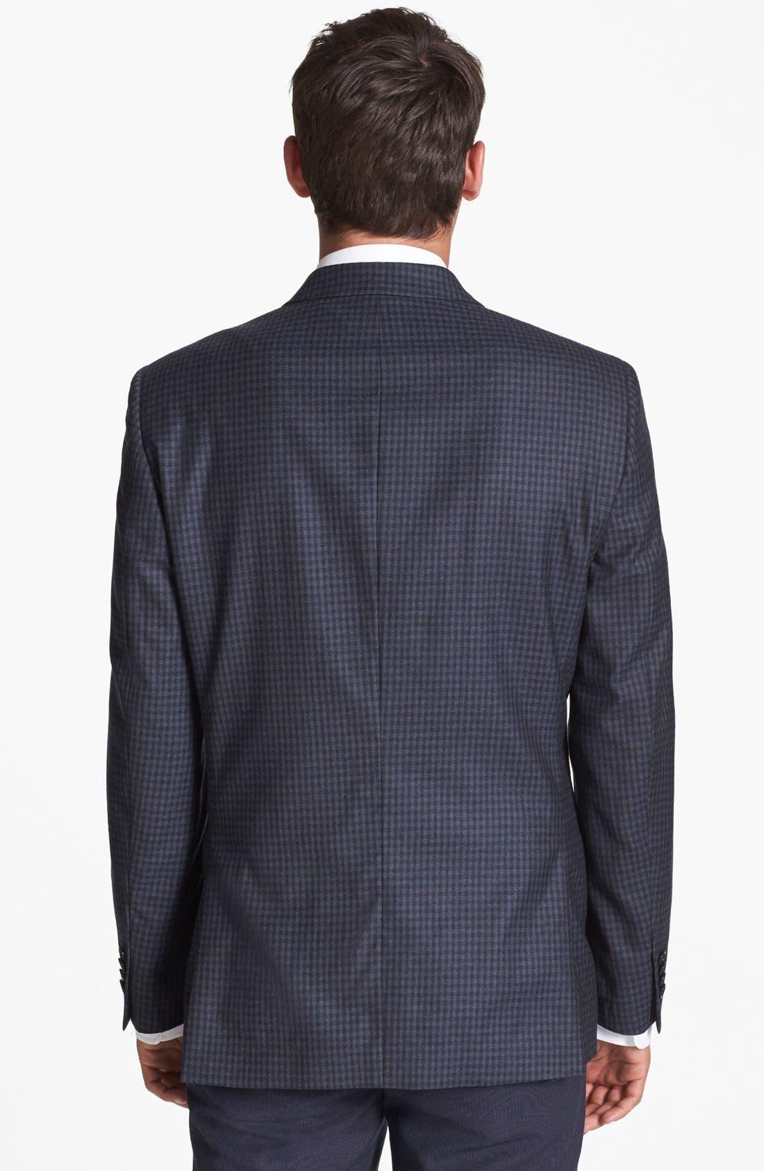 Alternate Image 3  - John Varvatos Star USA 'Townshend' Trim Fit Check Sportcoat