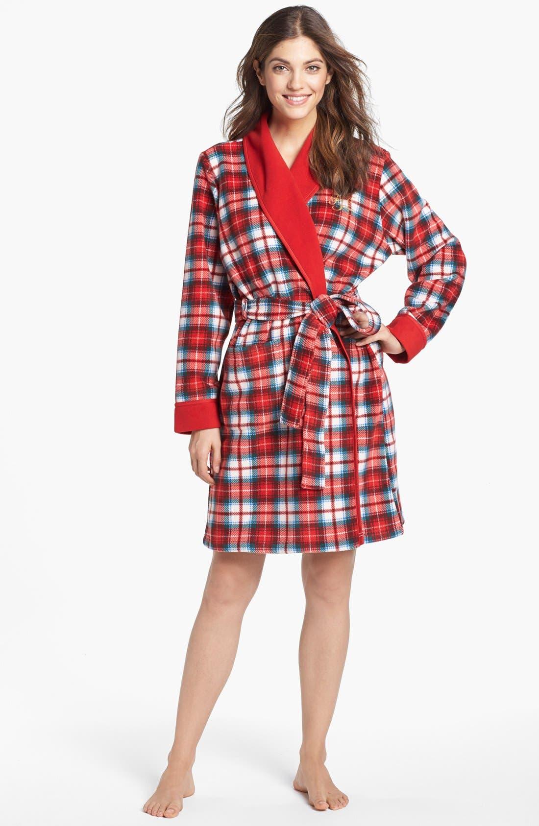 Alternate Image 1 Selected - Lauren Ralph Lauren Shawl Collar Robe