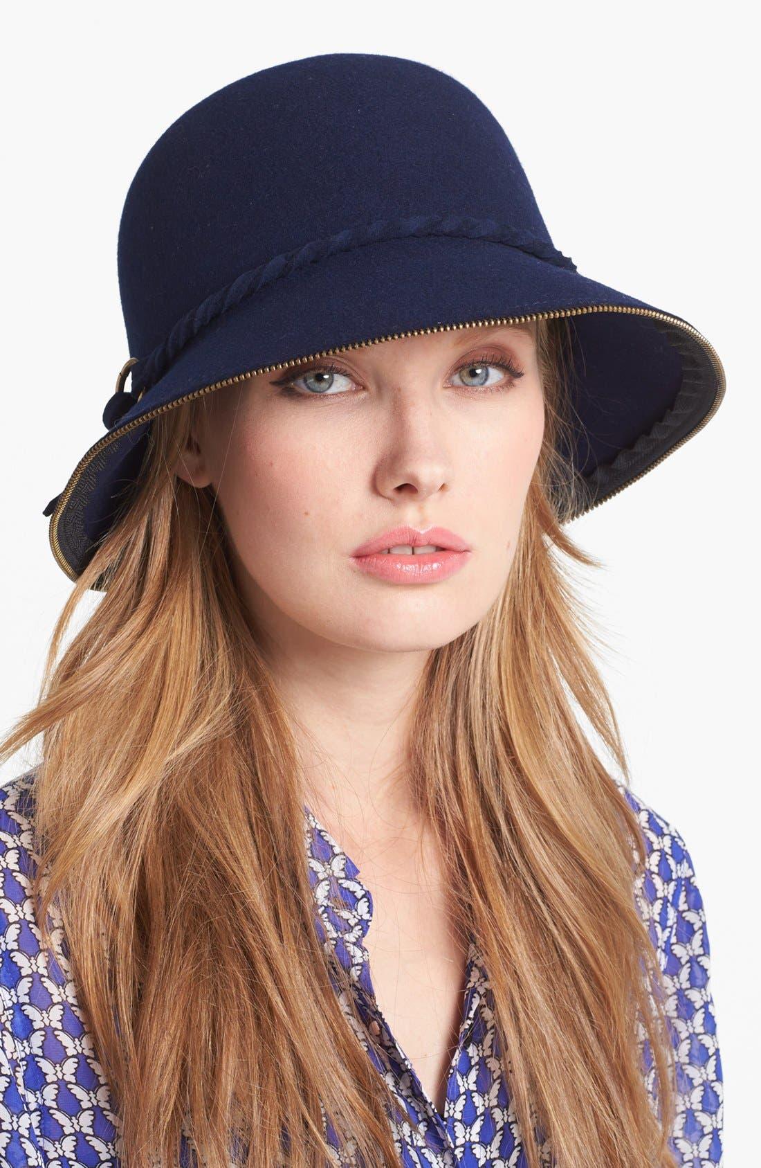 Alternate Image 1 Selected - San Diego Hat Zip Edge Cloche
