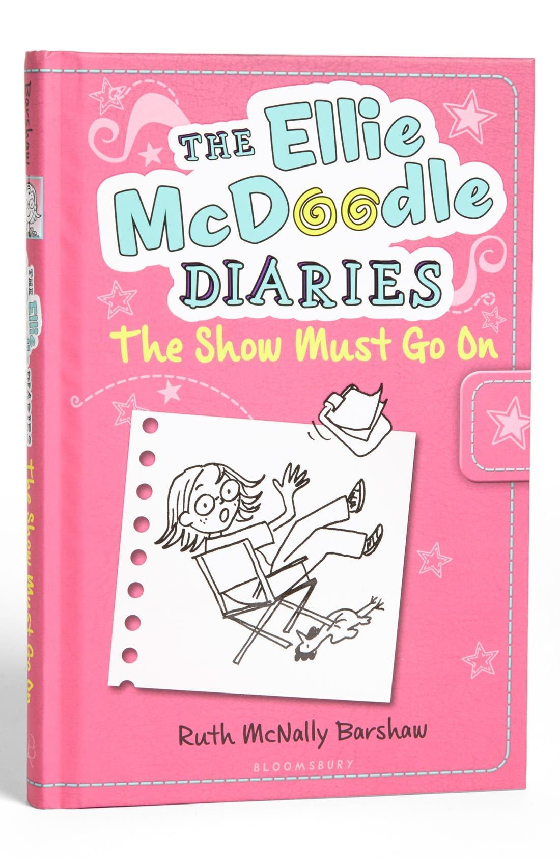Main Image - 'The Ellie McDoodle Diaries - The Show Must Go On' Notebook