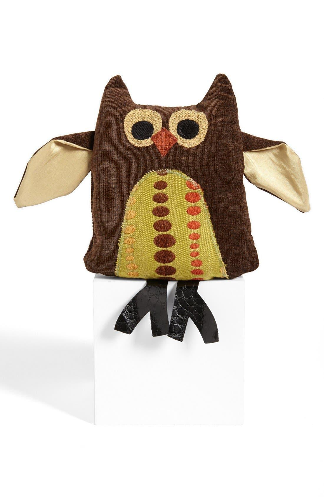 Alternate Image 1 Selected - Woof & Poof 'Kiwi Dot' Owl Bean Bag