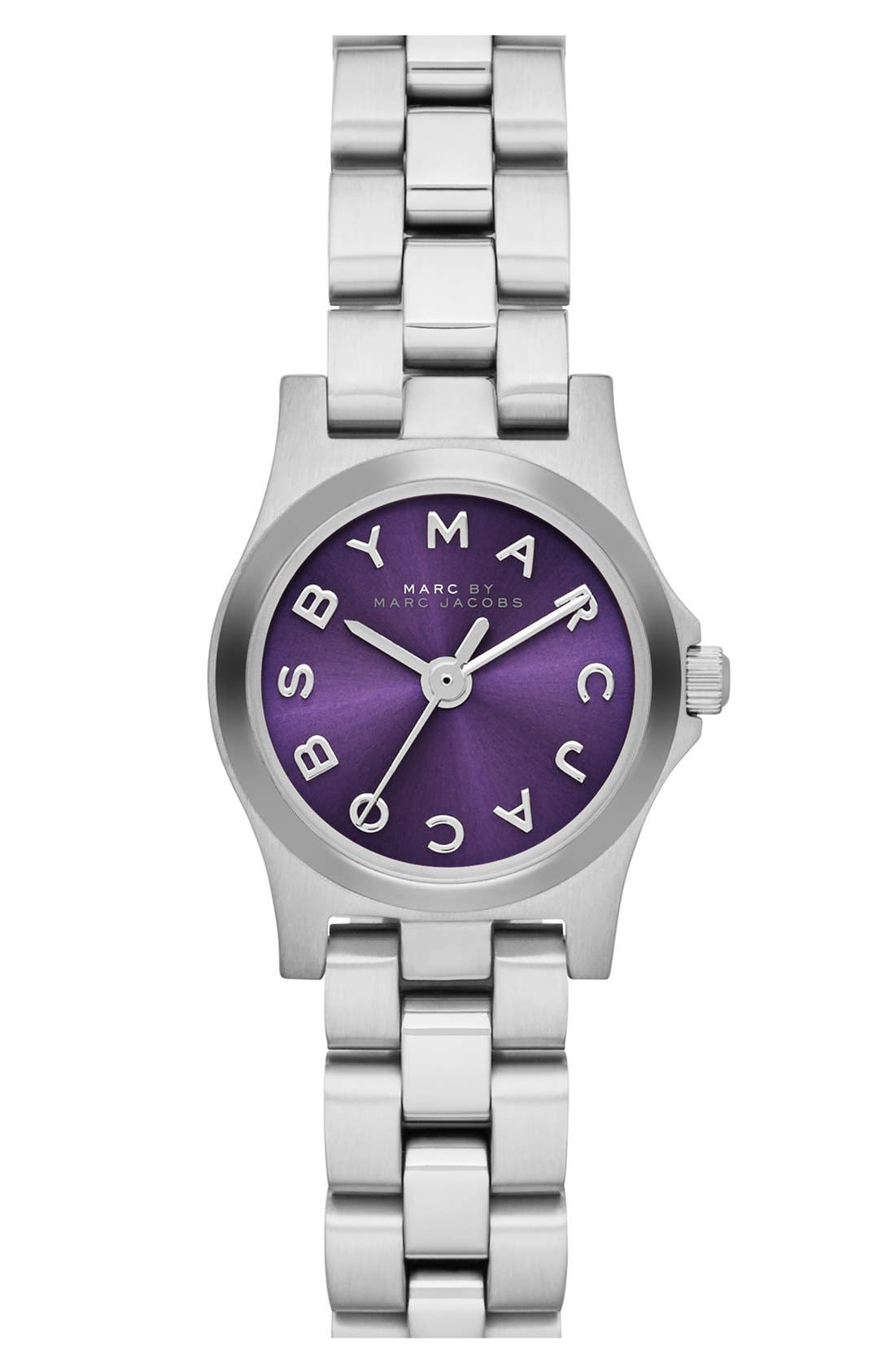 Main Image - MARC JACOBS 'Henry Dinky' Bracelet Watch, 20mm