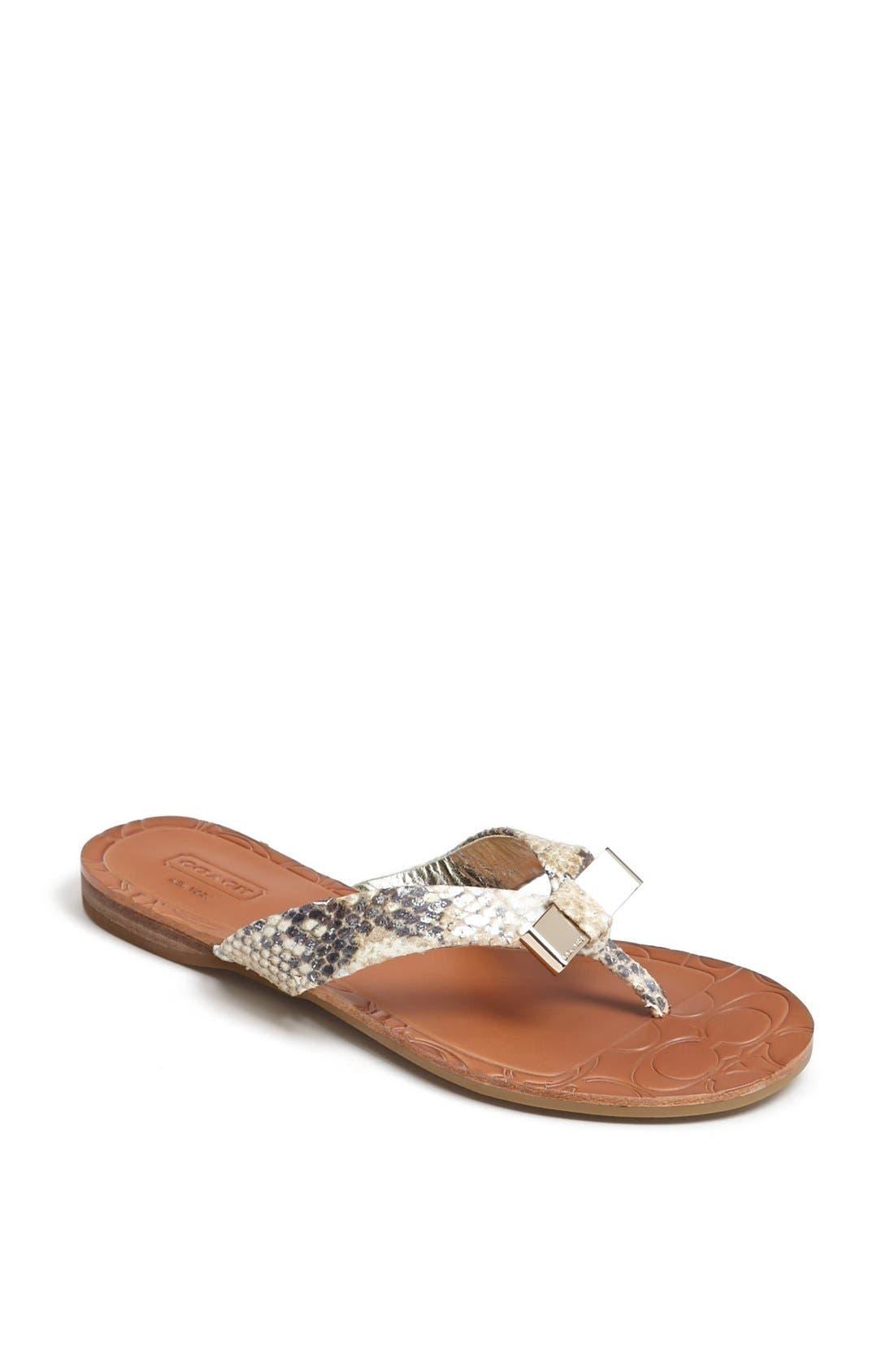 Main Image - COACH 'Sable' Flip Flop