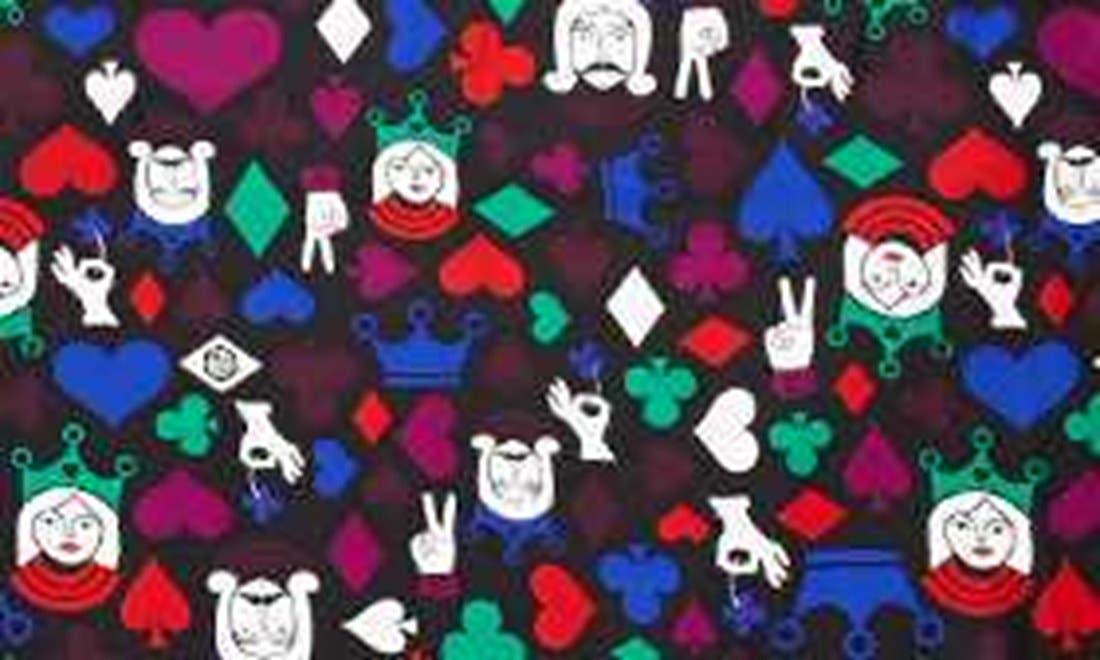 Alternate Image 2  - Jonathan Adler 'House of Cards' Silk Scarf