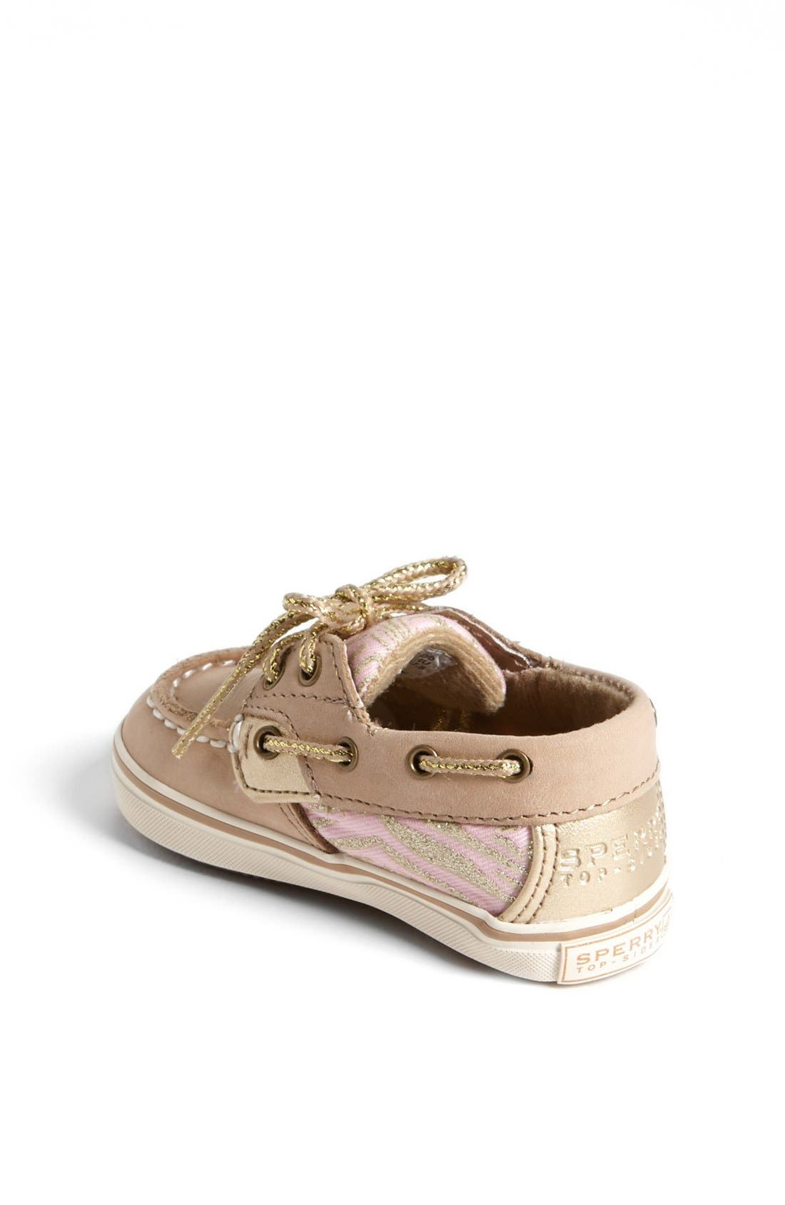 Alternate Image 2  - Sperry Top-Sider® Kids 'Bluefish' Crib Shoe (Baby)