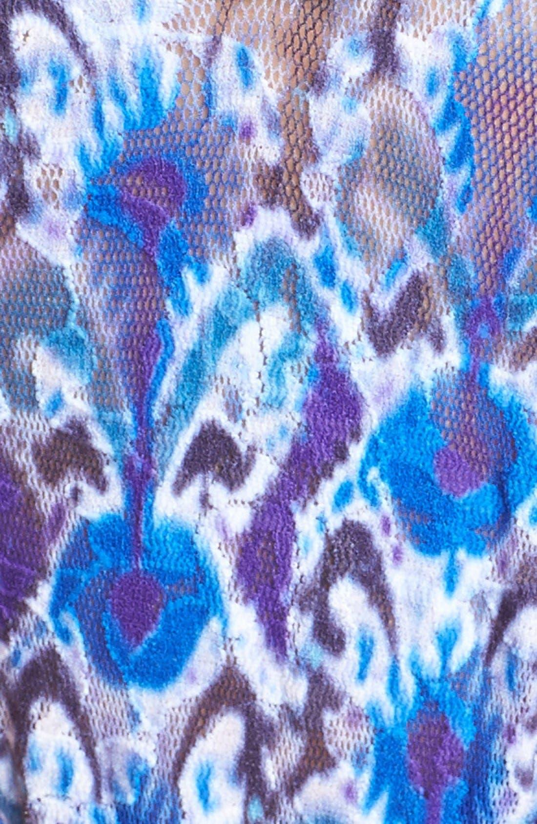 Alternate Image 3  - Hanky Panky 'Blue Ikat' Regular Rise Thong
