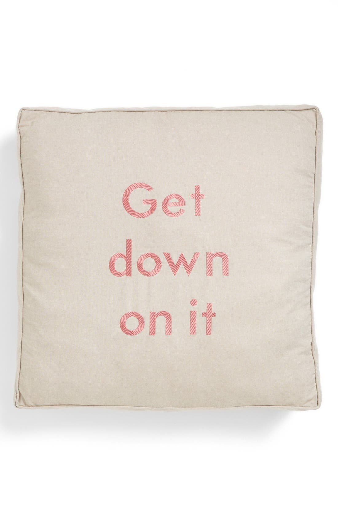 Alternate Image 1 Selected - Levtex 'Get Down on It' Floor Pillow
